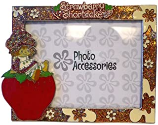 Strawberry Shortcake Picture Frame Glass Photo Frame (6.5 x 5 Inch)