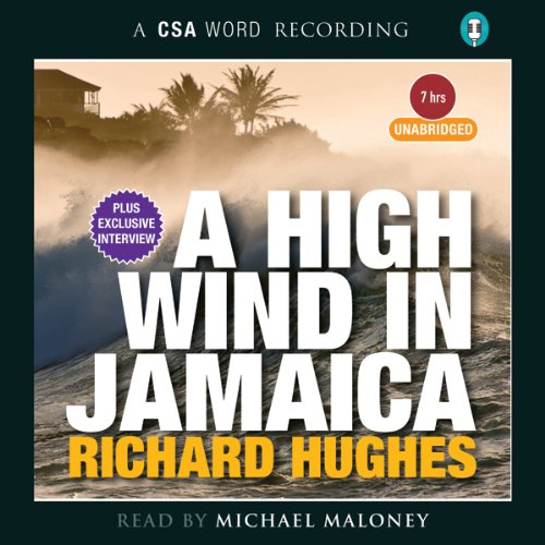 A High Wind in Jamaica audiobook cover art