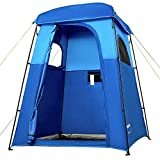 KingCamp Oversize Outdoor Portable Dressing Changing Room Shower Privacy Shelter Tent Grey