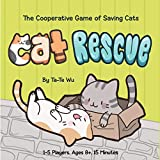 Cat Rescue: The Cooperative Game of Saving Cats (Fun Family Card Game for Cat Lovers, Quick & Easy Kitty Color-Matching Game for All Ages)