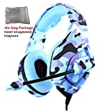 YANLUN Camouflage Gaming Headset, Bass avec Microphone PC Phone Tablet Applicable -...