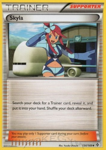 Pokemon - Skyla (134/149) - BW - Boundaries Crossed