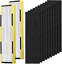 Replacement FLT5000 Filter C for Guardian AC5000, AC5000E, AC5250PT, AC5350B, AC5350BCA, AC5350W, AC5300B, 2 Pack FLT5000 Filters & 10 Pack Carbon Filters
