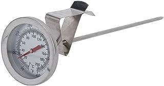 クッキング温度計 スティック温度計 調理温度計 食品温度計 高精度 ステンレス鋼 優れた熱伝導率 速読 錆防止 油 ミルク 揚げ物 お茶 お肉 風呂湯などの温度管理 料理用温度計 防水型 20cm