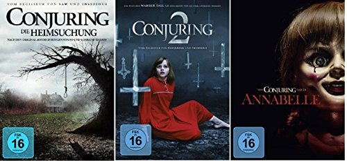 Conjuring - Teil 1+2 + Annabelle / DVD Set / 3 Filme