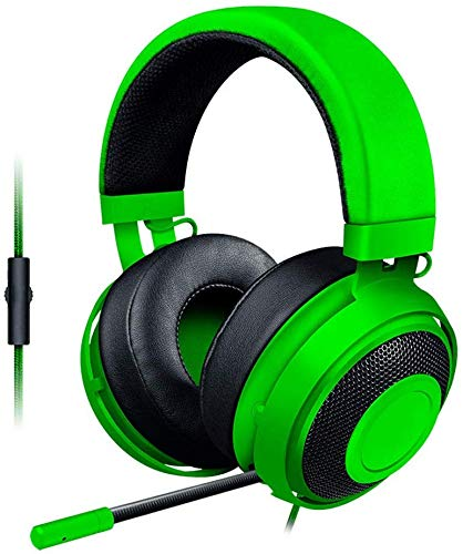 HAEEP Over-Ear-Kopfhörer - PC-Gaming-Headset mit Mikrofon, Noise Cancelling-Kabel (3,8 mm), Bass-Stereo-Surround-Sound und Lautstärkeregler (weiß)