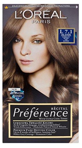L'Oreal Paris Recital Preference L 7.1 Islande Haar Farbe