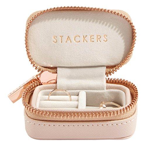 STACKERS LONDON トラベルジュエリーボックス S/スタッカーズ Travel Box (ブラッシュピンク)