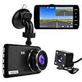 【2020 New Version】CHORTAU Dual Dash Cam Full HD 1080P 170° Dash Camera 4.0