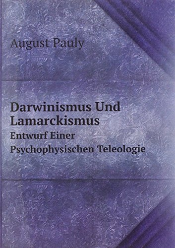 Darwinismus Und Lamarckismus Entwurf Ei
