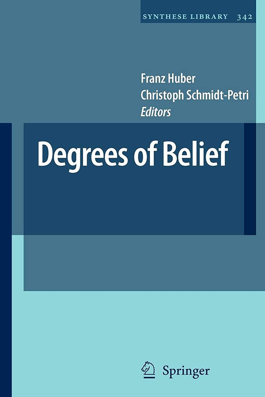 先生購入オーバーフローDegrees of Belief (Synthese Library)