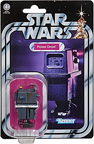Star Wars The Vintage Collection Power Droid Toy, 3.75-Inch-Scale A New Hope Action Figure, Toys for Kids Ages 4 and Up