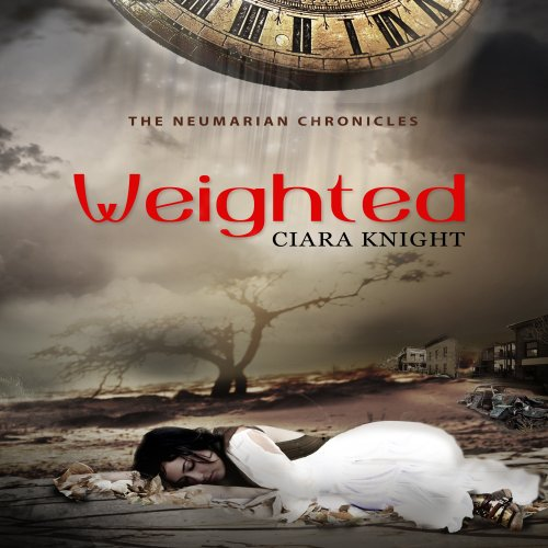 Weighted audiobook cover art
