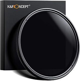 Filtro ND K&F Concept Filtro ND Regolabile da 67 mm ND2-ND400, Slim Fader ND, Filtro ultra Sottile