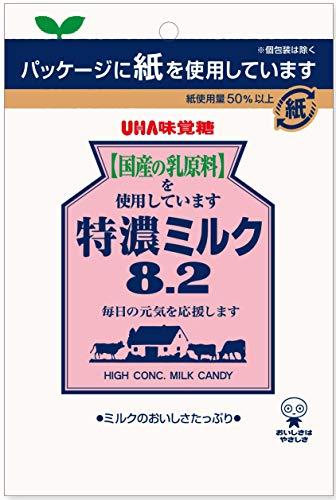 UHA味覚糖 特濃ミルク8.2 88g ×6袋