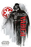 Star Wars - Rogue One - Darth Vader Grunge Poster Plakat