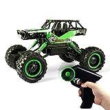 QIXIAOCYB Rc Camión de control remoto de alta velocidad del coche de 2.4GHz 4wd Escalador eléctrico Escalador Buggy Hobby Cars Juguete Todos los camiones de juguetes de Terreno for niños son regalos d