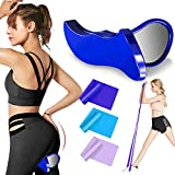 RIFFUE Kegel Exerciser Pelvic Floor Muscle and Inner Thigh Exerciser, Hip Trainer Shaping Beautiful Buttocks Using in Postpartum Rehabilitation, Fitness etc