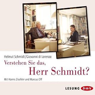Verstehen Sie das, Herr Schmidt? Titelbild