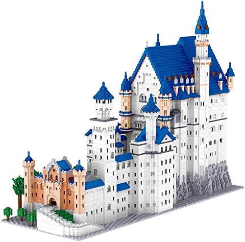 LNLJ Mini Bloques De Construcción Nano Ladrillos Nuevo Conjunto De Modelo De Castillo De Piedra De Cisne (11810 Piezas) Juguetes De Arquitectura Famosos Regalos para Niños Y Adultos