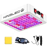 KingLED Newest 600w LED Grow Lights with LM301B LEDs and 10x Optical Condenser 2x2ft Coverage Full Spectrum Grow Lights for Indoor Hydroponic Plants Veg Bloom Greenhouse Growing Lamps