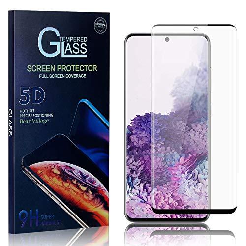Bear Village Displayschutzfolie für Galaxy S20, Ultra klar Schutzfilm aus Gehärtetem Glas, Anti Kratzen Displayschutz Schutzfolie für Samsung Galaxy S20, 3 Stück