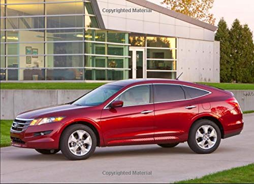 Honda Accord Crosstour EX-L: 120 pages with 20 lines you can use as a journal or a notebook .8.25 by 6 inches.