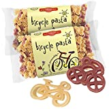 Pastabilities Bicycle Pasta, Fun Shaped Bike Noodles for Kids, Non-GMO Natural Wheat Pasta 14 oz (2 Pack)
