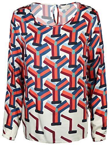 Milano Italy Damen Bluse Größe 44 EU Mehrfarbig (bunt)