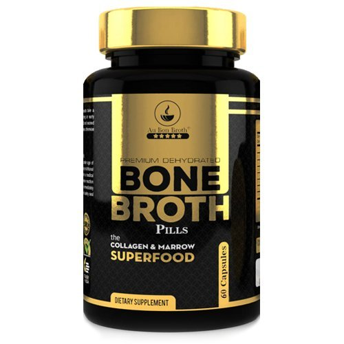 Bone Broth Protein Powder Superfood Capsules