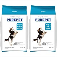 purepet chiken&vegetable puppy dog food 1.1 kg