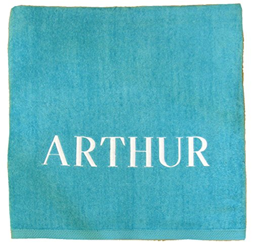 A PLUS MARKETING Personalized Beach Towel (Turquoise)