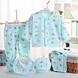 Size : 0-6 Months Baby Material: 100%cotton 100% brand new and high quality Soft and breathable healthy cotton fabric Comfortable to touch and wear Animal pattern on the tops,footed, cozy and cute Applicable seasons: spring and autumn Summer package ...