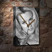 Seasons Jenny McCARTHY - Canvas Clock (A4 - Signed by The Artist) #js003