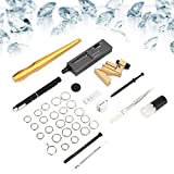 Huakii Detector de Diamantes, diseño de Anillo de Metal con Forma de Pata de Diamante, medidor de Anillos, Trabajadores de reparación de Joyas para Fabricantes de Joyas
