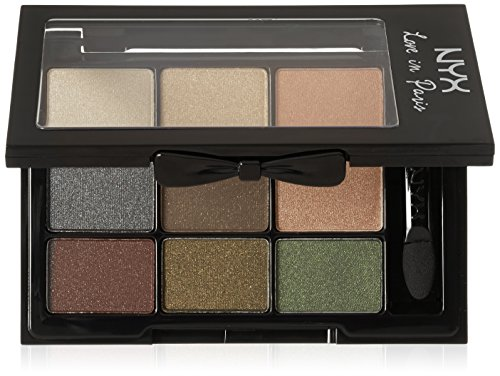 NYX Cosmetics Love In Paris Eyeshadow Palette C'est La Vie