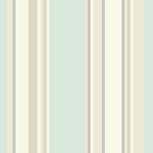 Metallic Gold Stripe Wallpaper Striped Stripey Washable Easy To Hang Feature
