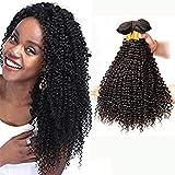Ladiary pelo rizado natural brasileño extensiones pelo rizado 3 bundles hair pelo natural...