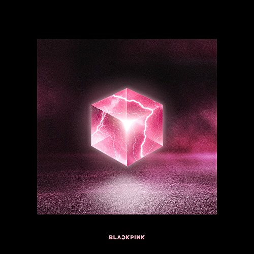 GENIE MUSIC BLACKPINK - SQUARE UP [Black ver.] (1st Mini Album) CD+Photobook+Renticular Lyrics+Postcard+Photocards+Double-Sided Folded Poster+Free Gift