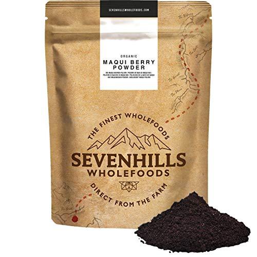 Sevenhills Wholefoods Polvere Di Bacche Maqui Liofilizzato Bio 100g