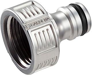 """GARDENA Premium kraanaansluiting 26,5 mm (G 3/4""""): Adapter voor waterkranen, hoogwaardig metaal, spatvrije waterstroom, vo..."""