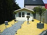 28 mm Gartenhaus Ingmar ca. 380x300 cm (unbehandelt)
