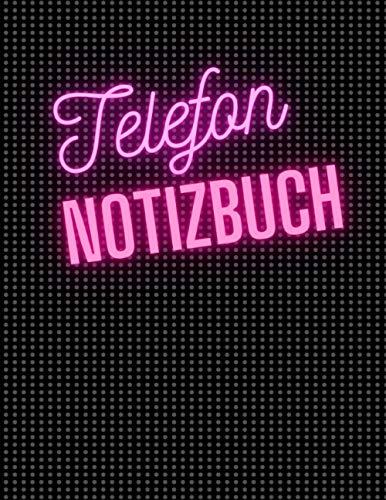 Telefon Notizbuch: Telefon Notizbuch: Das Telefon Notizbuch-Nie wieder Telefonnummern Vergessen.8.5