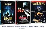 ITALIAN HORROR CULT (Demoni - Demoni 2 - Deliria) (3 Film - 3 Dvd)...