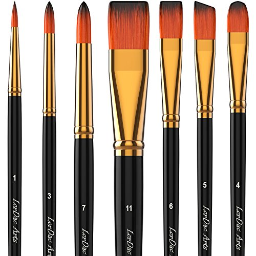 LorDac Arts Paint Brush Set