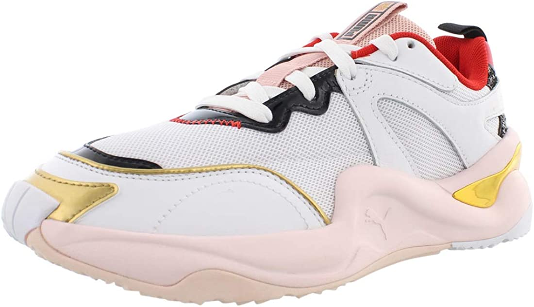 PUMA Womens Rise X Charlotte Olympia Sneakers Shoes Casual - Pink,White