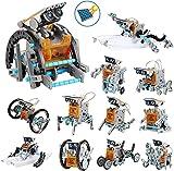 Juguete Robot Stem para niños, 12 in 1 Robots Kit de Ciencia Divertido Juego Creativo y DIY Juguetes, Manualidades Regalos para niños de 8 a 12 años