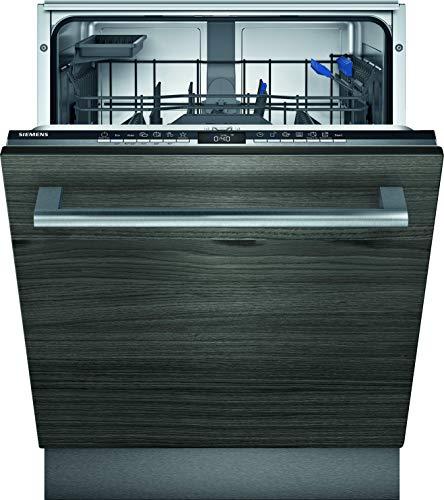 Siemens SN65ZX03AE iQ500 Vollintegrierter Geschirrspüler / C / 74 kWh / 13 MGD / Zeolith Trocknung / Smart Home kompatibel via Home Connect / glassZone im Oberkorb