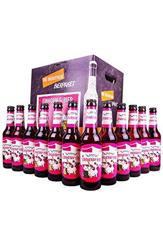 Bierothek Bierpaket Einhorn & Bier (12 Flaschen Zwönitzer Einhorn & Bier 0,33l |...