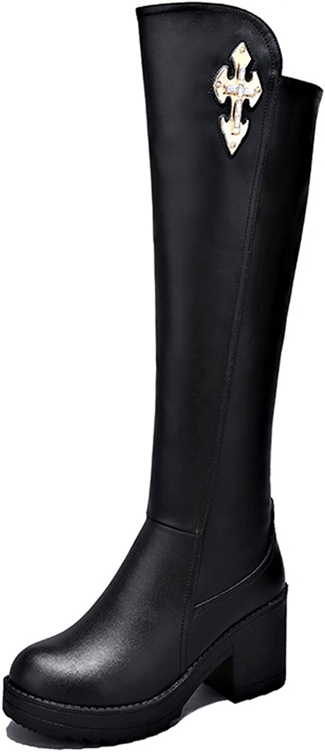 No.66 Town Women's Cow Leather Martin Boots